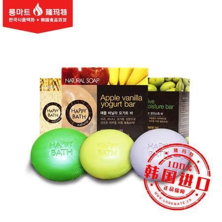 韩国进口正品 爱茉莉 HAPPY BATH 系列美容 香皂 滋润保湿 100g
