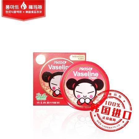 韩国进口正品Pucca中国娃娃凡士林保湿补水面霜保湿儿童面霜 75g