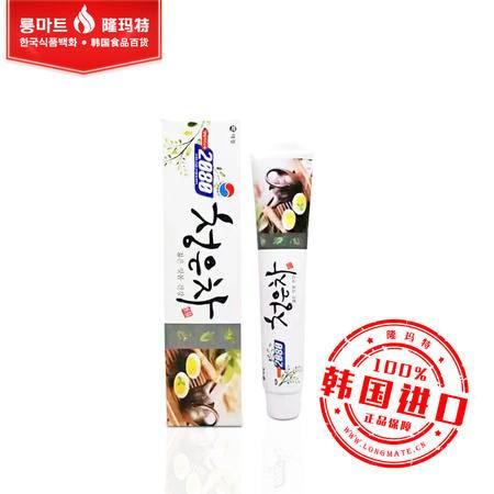 韩国进口正品 爱敬2080 青龈茶牙膏 缓解牙龈 清新去口臭 90g