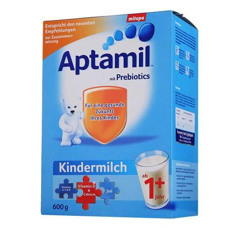 德国爱他美奶粉Aptamil 1+(12个月以上)600g(海外版)