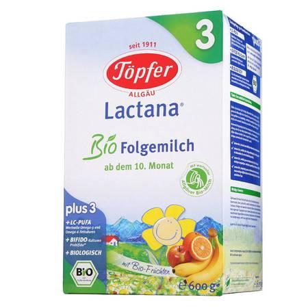 德国特福芬奶粉Topfer 3段(10-36个月)600g (4盒套装 立省76元)(海外版)