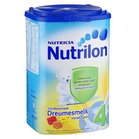 荷兰牛栏奶粉Nutrilon 4段 香草味(1-2岁)800g(海外版)
