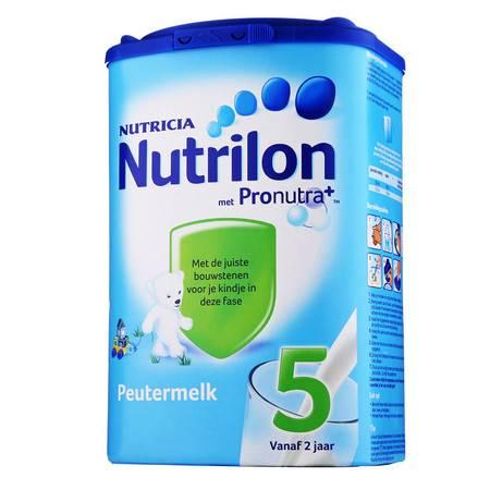 荷兰牛栏奶粉Nutrilon 5段(2-7岁)800g(海外版)