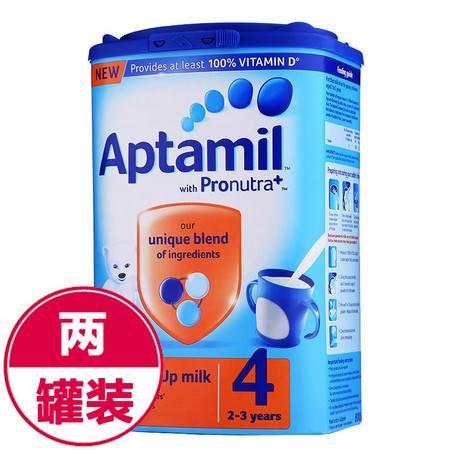 英国爱他美美乐宝奶粉Aptamil 4段(2-3岁)800g (海外版)