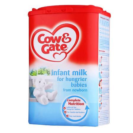 英国牛栏恩贝儿饥饿型奶粉Cow&Gate (0-12个月)900g(海外版)