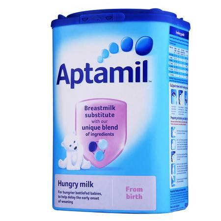 英国爱他美美乐宝奶粉Aptamil 饥饿型奶粉(0-12个月)900g (海外版)