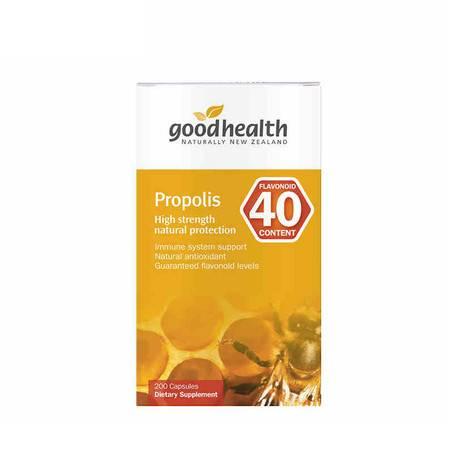 【提高免疫 延缓衰老】新西兰好健康Goodhealth天然蜂胶胶囊 300粒(海外版)