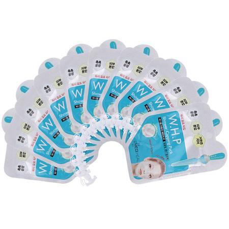 韩国可莱丝Clinie克莱斯 提亮水洗面膜 15ml*10