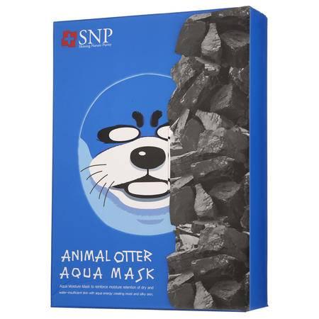 【强效补水 平衡油脂】SNP水獭补水动物面膜 10片