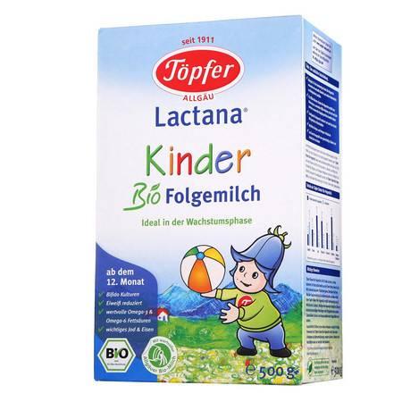 德国特福芬Topfer有机奶粉 1+段(1岁以上)500g