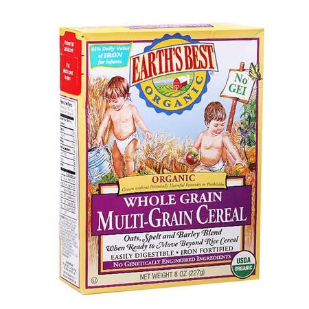 美国世界最好Earth's Best高铁婴儿全谷物米粉3段(9个月以上)227g