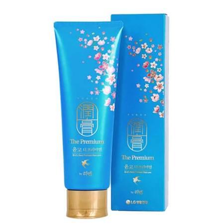 韩国LG ReEn润膏升级版蓝色金丝燕窝洗护二合一洗发水250ml