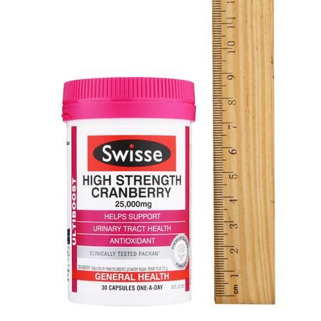 澳洲斯维斯swisse蔓越莓胶囊高浓度精华30粒(海外版)