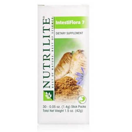 美国安利纽崔莱乳酸菌包(肠道清道夫)帮助肠胃消化 改善肠胃健康 30包