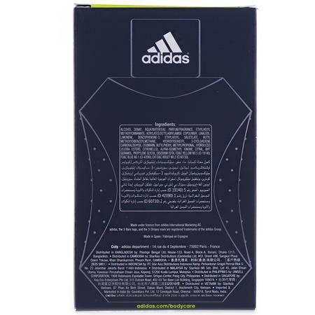 阿迪达斯Adidas男士荣耀香水EDT 100ml(海外版)