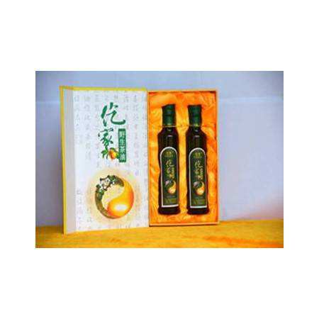 贵州农特产品  石阡仡家茶油 天然野生 纯正食用茶油 250ml两瓶装(半斤/每瓶)