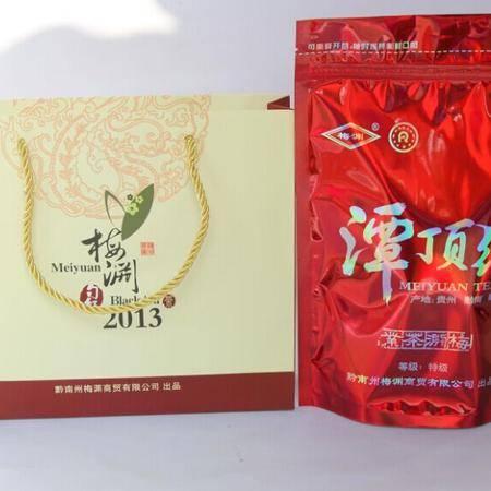 特级独芽香气嫩甜香持久滋味鲜浓醇厚拉链袋装潭顶红红茶