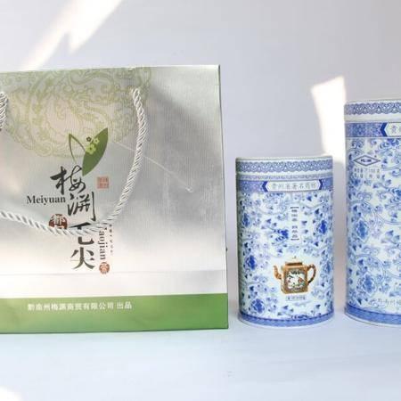 中国好茶 口感醇厚香 气嫩香持久大小青花听装都匀毛尖茶