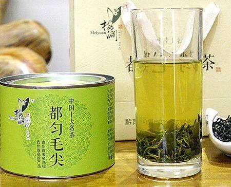 贵州特产绿茶—都匀毛尖