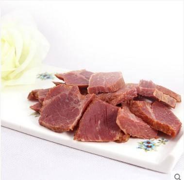 安徽阜阳特产卤汁黄牛肉 熟牛腩肉真空袋装 食品