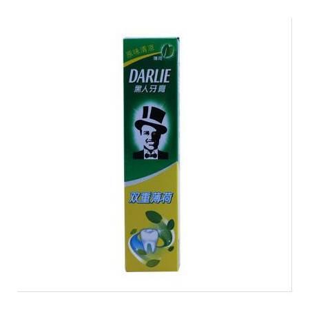 包邮 黑人 牙膏双重薄荷 90g 原味清凉 清新口气