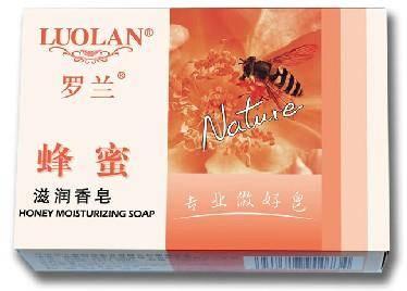 罗兰 蜂蜜滋润香皂100g 滋养肌肤沐浴皂清洁皂洁肤皂