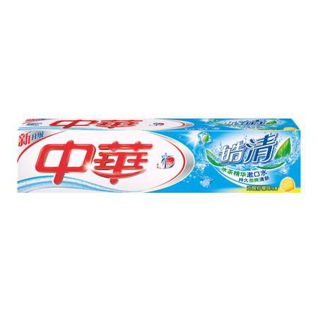 中华牙膏 皓清系列 柠檬味75g 除臭去黄美白健齿