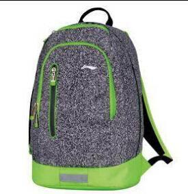 李宁双肩包韩版学院风书包 正品男女包运动休闲电脑包背包ABSK374