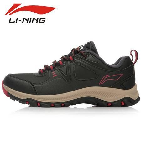 新款李宁基础徒步户外系列保暖男鞋 户外徒步鞋运动鞋AHTK029