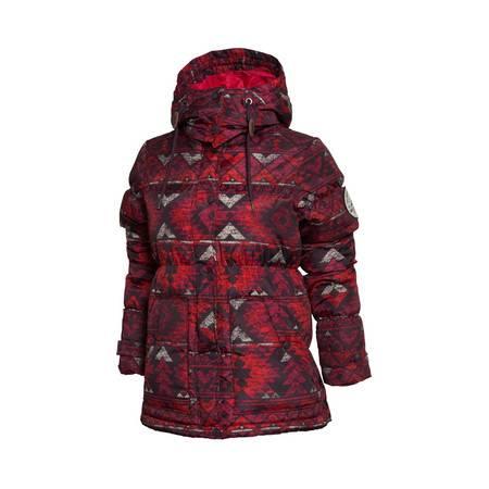 包邮 李宁新款运动生活系列女装 常规收口短款羽绒服AYMK042