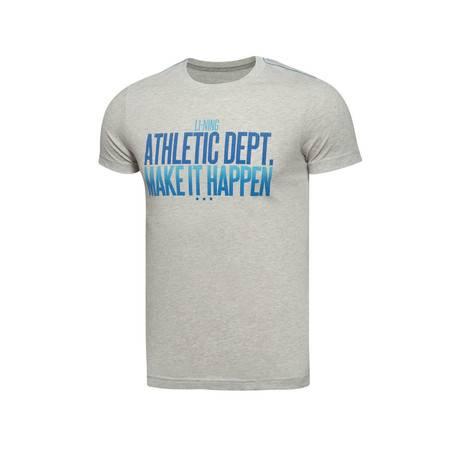 包邮 李宁2016新款男装运动生活系列短袖T恤GHSL007
