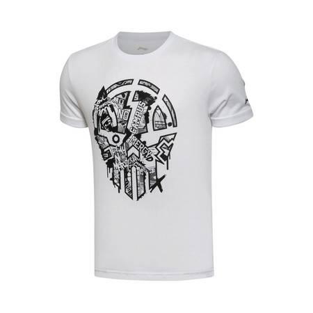 包邮 李宁2016新款男装篮球系列短袖T恤AHSL017