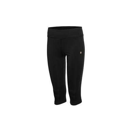 李宁2016新款女装训练系列速干平口紧身型运动训练紧身裤AUQL016