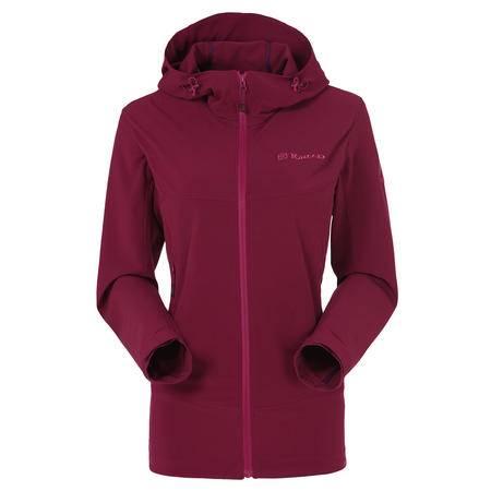 包邮   2016春夏新款 女式防风越野外套 软壳衣HAEE82044