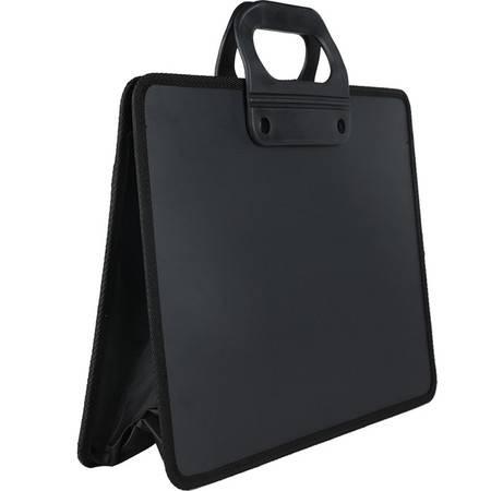 包邮 得力A4织布手提包5579 多功能文件包事务包资料包 商务办公 实用   颜色随机发