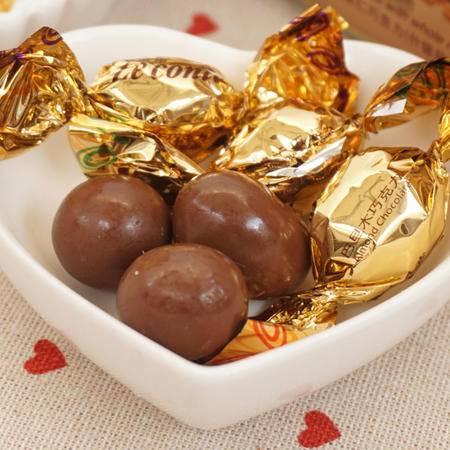 限量包邮 金帝巧克力 金帝果仁巧克力蛋什锦装160g 盒装