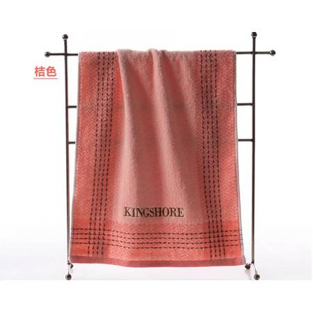 金号2145毛巾提缎绣花纯棉面巾 实惠耐用全棉 柔软吸水加厚 大气