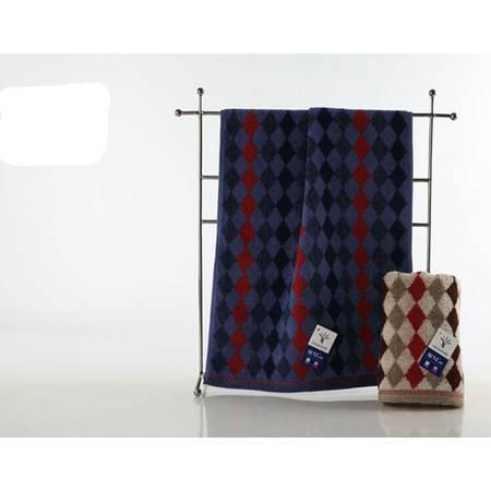 满百包邮 金号G1745A毛巾 耐用纯棉专柜正品 时尚英伦格调  一条装