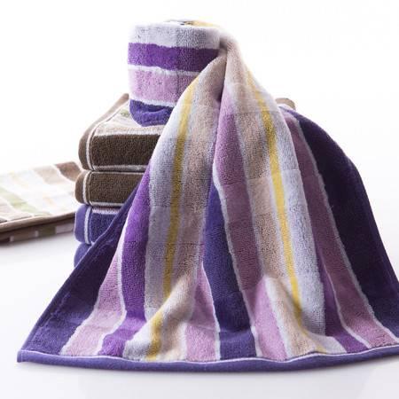 满百包邮 金号GA1012毛巾 纯棉大气毛巾柔软吸水高低毛提缎割绒加厚款  一条装