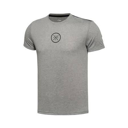 包邮 李宁2016新款男装韦德系列速干短袖运动T恤运动服ATSL055