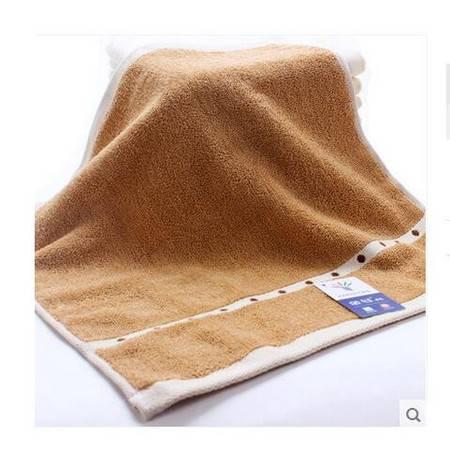 金号4620方巾 纯棉提缎圆点柔软时尚情侣居家方巾 一条装