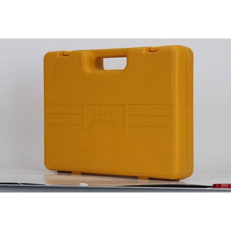包邮 得力 3703多用途组合工具套装(橙)(套)家用工具箱五金工具套装