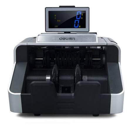 包邮 得力B类点钞机3919识别新版人民币验钞机 银行专用USB升级/双驱