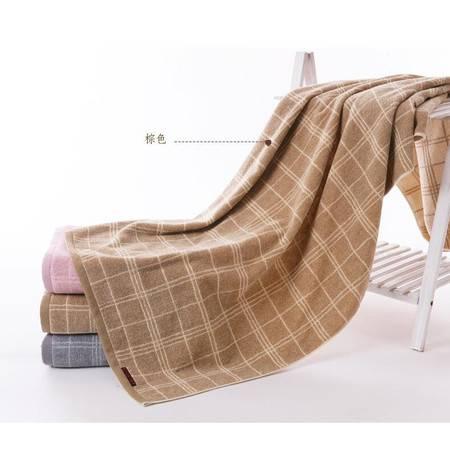 包邮 金号G3955H纯棉浴巾 全棉花式线提缎绣花 柔软厚实吸水 时尚沉稳大气 一条装