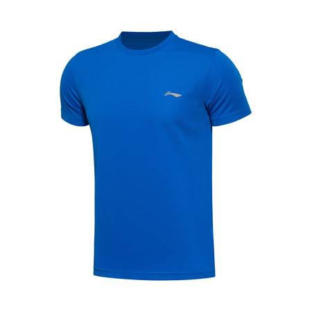 包邮 李宁 2016新款男装训练系列速干短袖运动T恤ATSL225