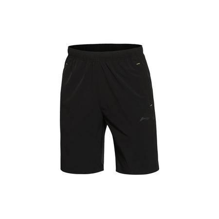 包邮 李宁2016新款夏季男装训练系列平口运动短裤男士运动服AKSL191