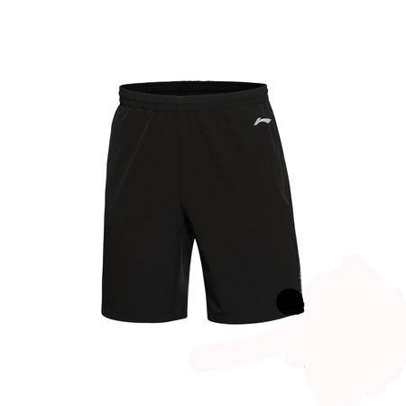 包邮 李宁2016新款男子速干平口跑步短裤运动裤男运动服AKSL035