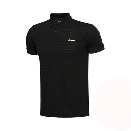 包邮 李宁2016新款夏季男子训练短袖POLO衫男运动服上衣APLL127