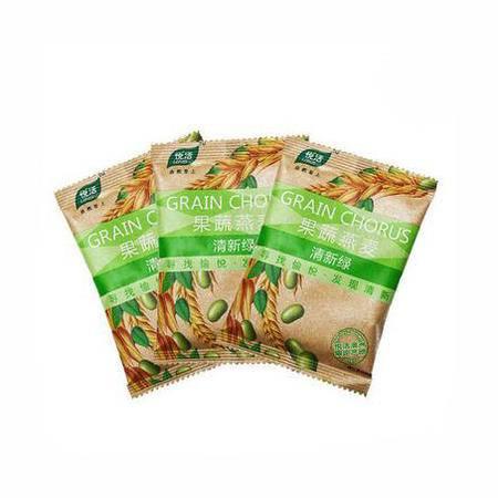 【付邮试用】中粮燕麦 清新绿35g小包装   3袋装