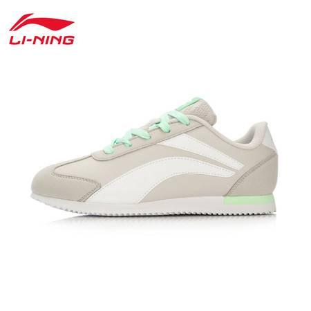 包邮  李宁2016新款女子复古经典跑鞋3KM轻便女休闲运动鞋ARCL016